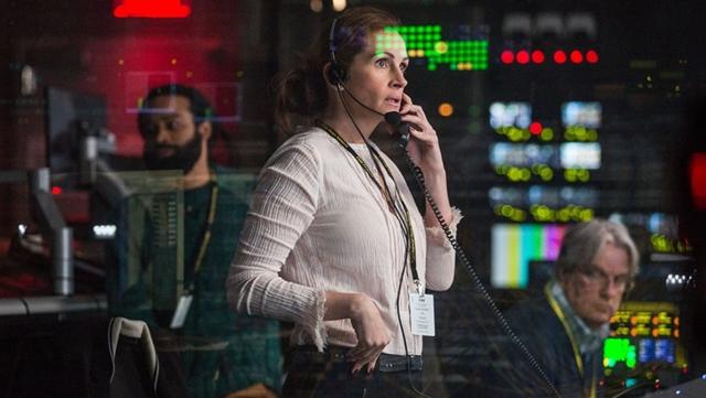 Money Monster, Movie Review. Thriller, Julia Roberts, George Clooney, Judie Foster, Jack O'Donnel, byrawlins,