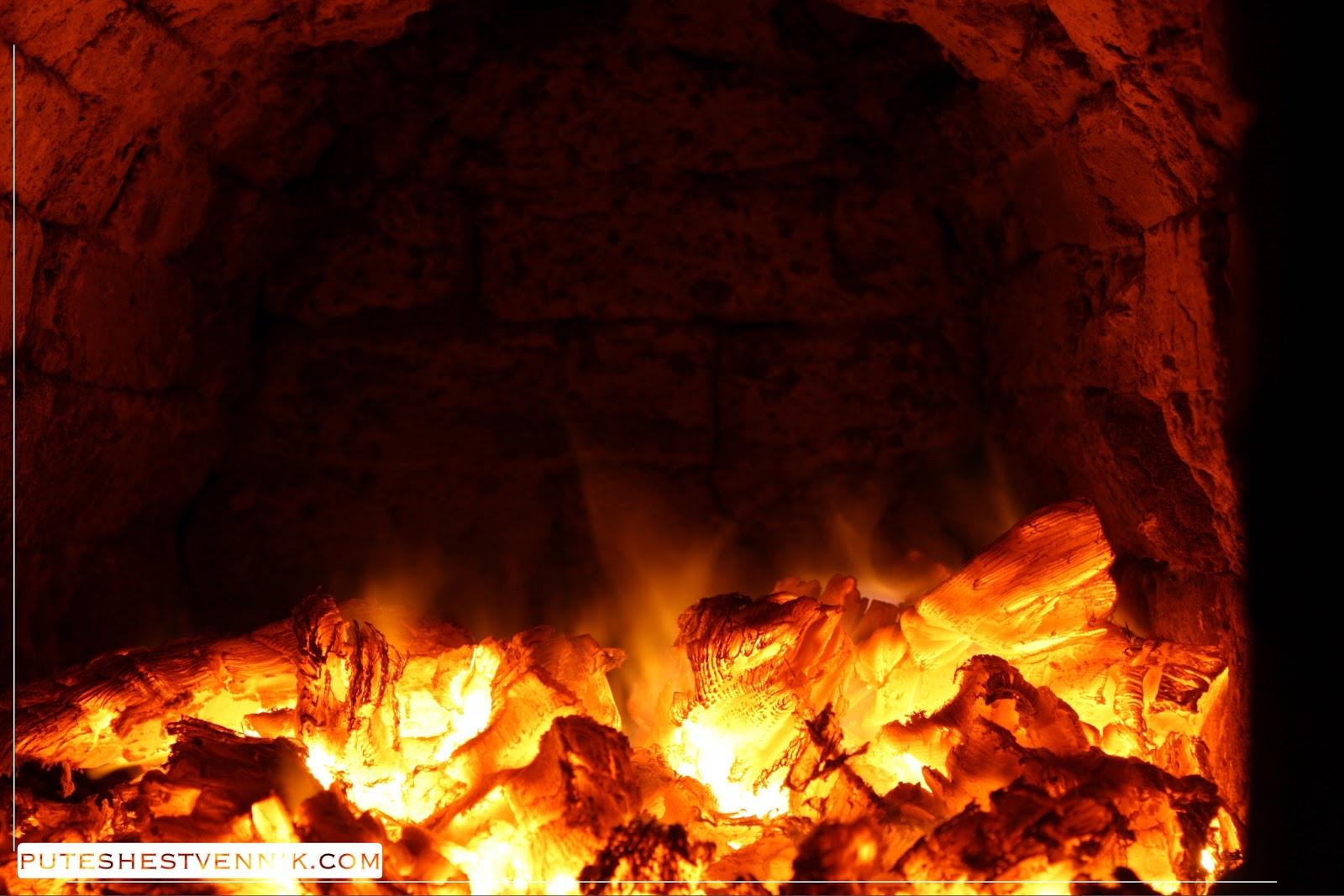 Традиционная печь в русской избе