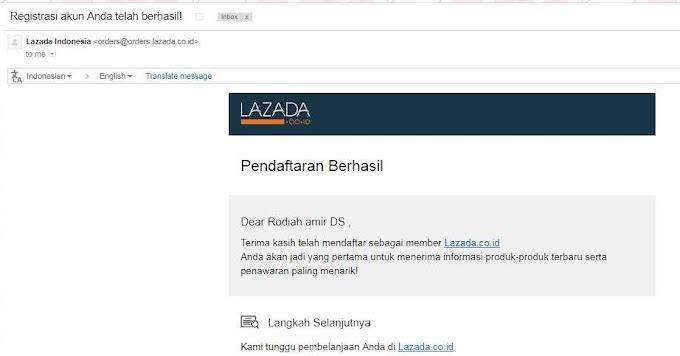 SPAM   Terima Email Lazada Indonesia