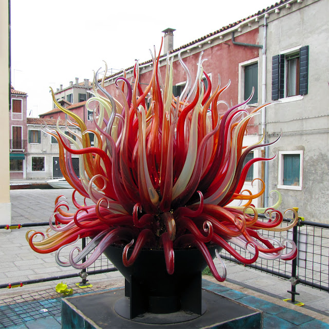 Fuoco io son (Fire I Am) by Denise Gemin, Calle Bressagio, Murano, Venice