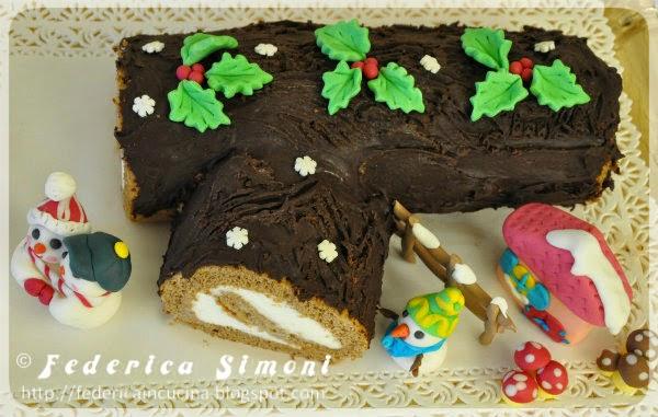 Cotto E Mangiato Tronchetto Di Natale.La Cucina Di Federica Tronchetto Di Natale