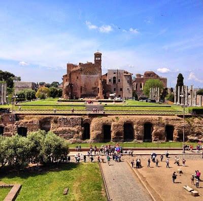 VEnere ROma - 23 Monumentos do Fórum Romano