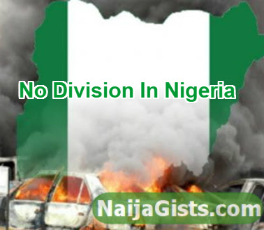 division of nigeria