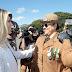 Cida dá posse à primeira mulher no comando-geral da PM do Paraná