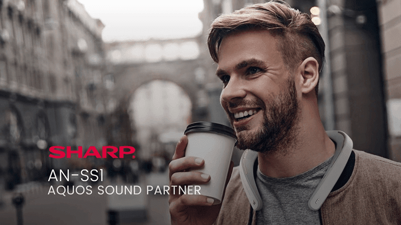 Sharp releases AN-SS1 Aquos Sound Partner wireless shoulder speaker in PH!