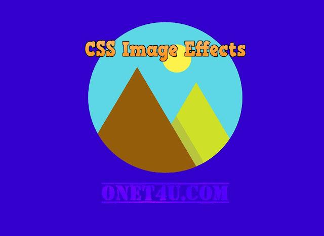 Cara Membuat Efek Hover Pada Gambar Di Blogger