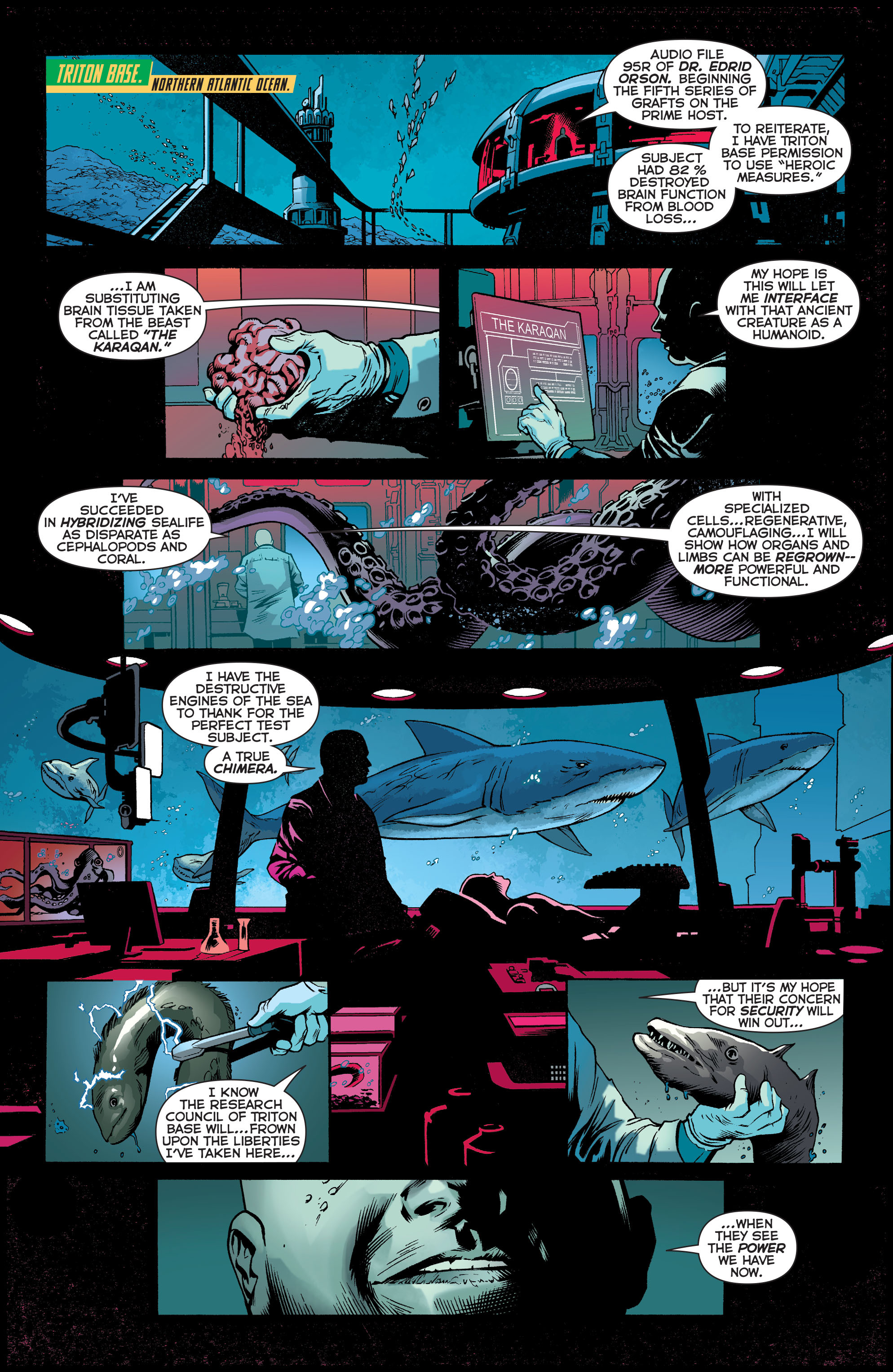 Read online Aquaman (2011) comic -  Issue #30 - 2
