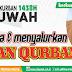 Panitia Tebar Hewan Qurban 1438H Menerima dan Menyalurkan Hewan Qurban