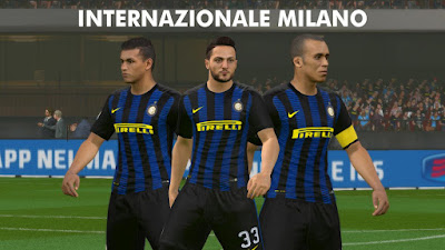 PES 2016 Inter Milan 16/17 kits by Akmal