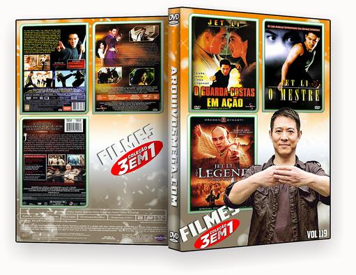 CAPA DVD – Coleção Jet Li 3×1 vol 119 – ISO