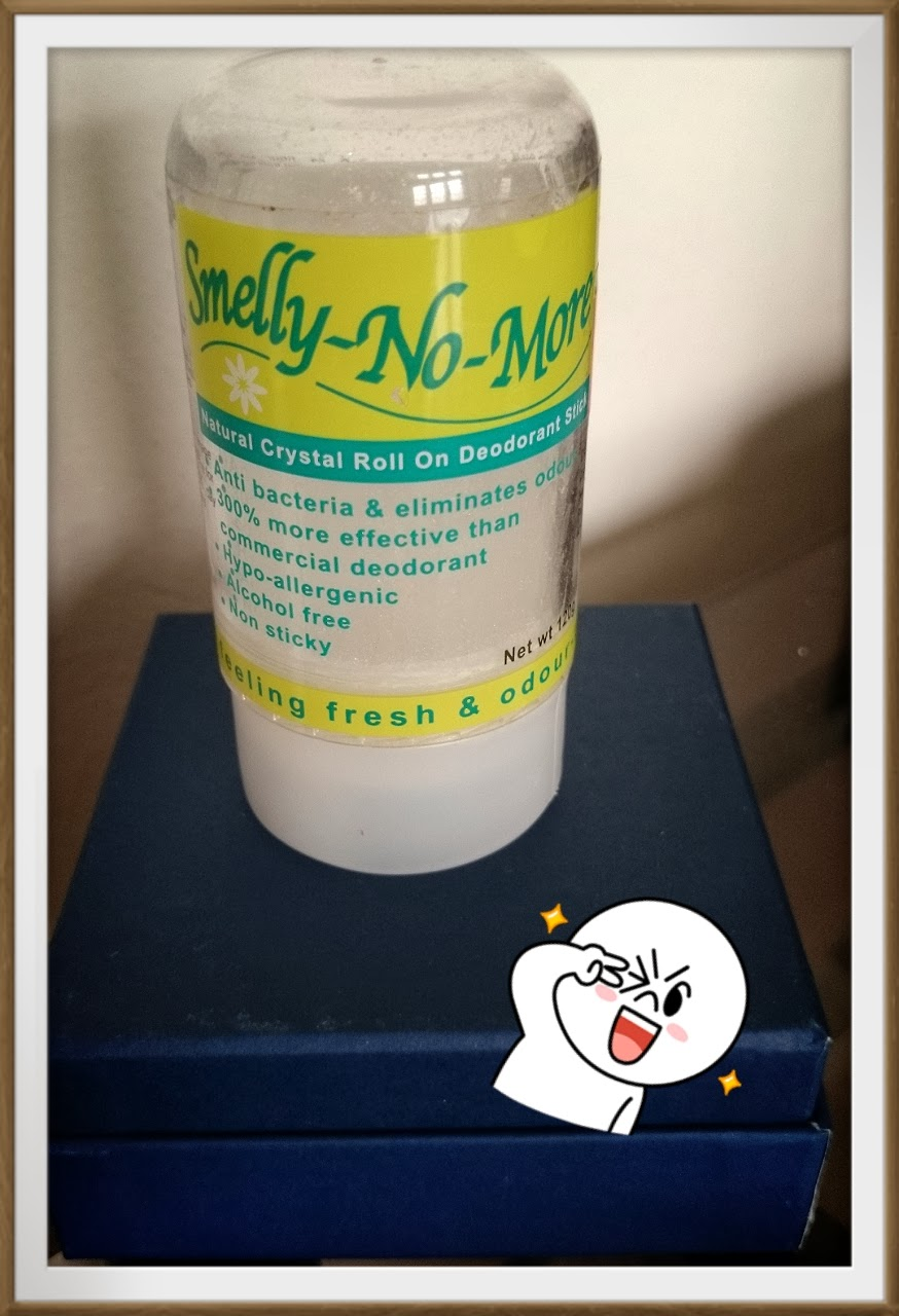 Allison Chua Review Smelly No More Natural Crystal Roll