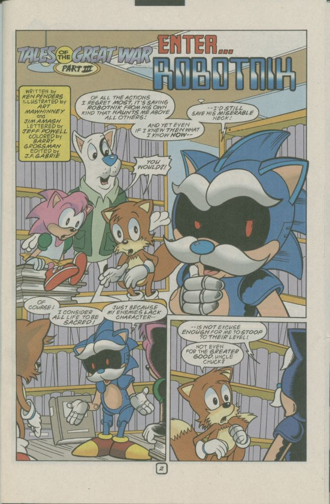 Read online Sonic The Hedgehog comic -  Issue #74 - 23
