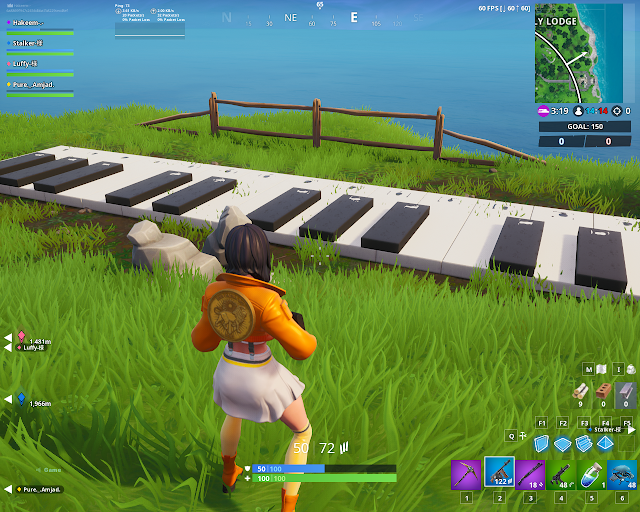 Visit an oversized abig Piano