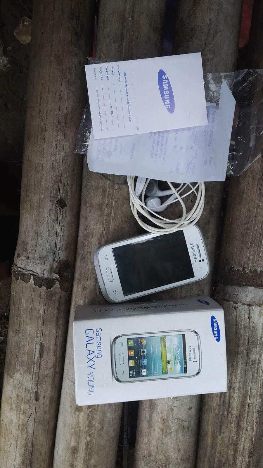 Harga Bekas Samsung Galaxy Young 2 Single Full Set Dan Spesifikasi