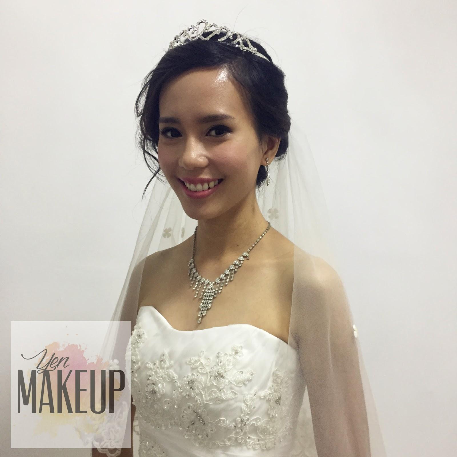 Wedding Day Makeup 2017 : YenMakeup: Bridal Day Makeup ~ 07-01-2017