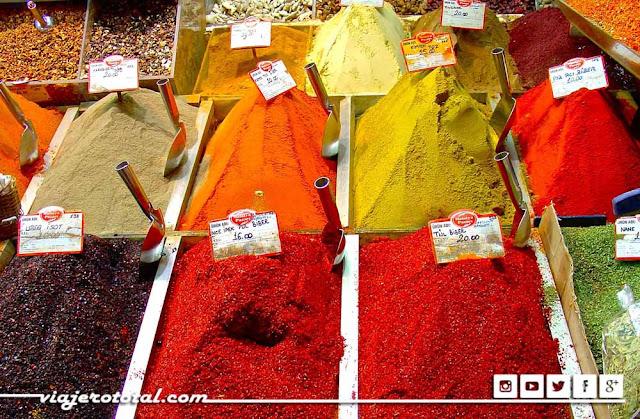 Bazar de las especias -  Estambul, Turquía.