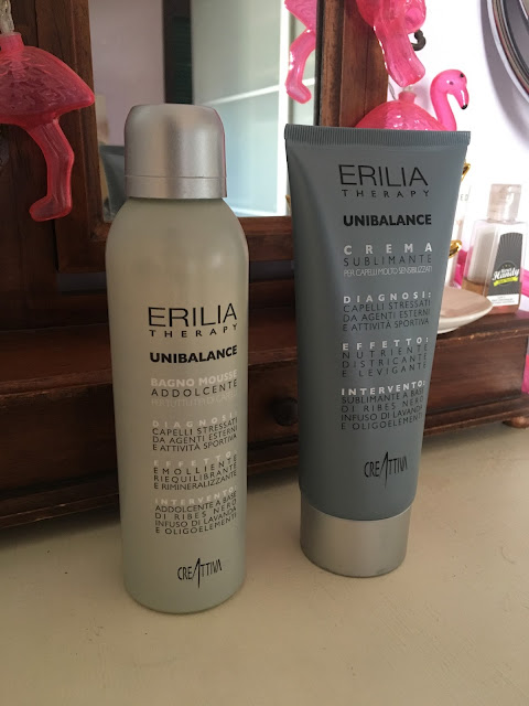 Review: Erilia Therapy Unibalance Bagno Mousse Addolcente&Crema Sublimante