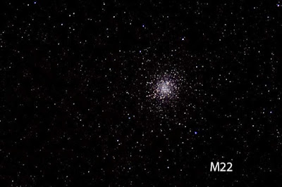 M22 shows up in telescope at Julian Star Party at Menghini Winery (Source: Palmia Observatory)