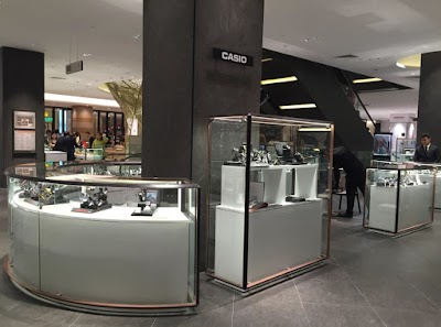 Casio Opens Two Watch Counters at Isetan The Japan Store