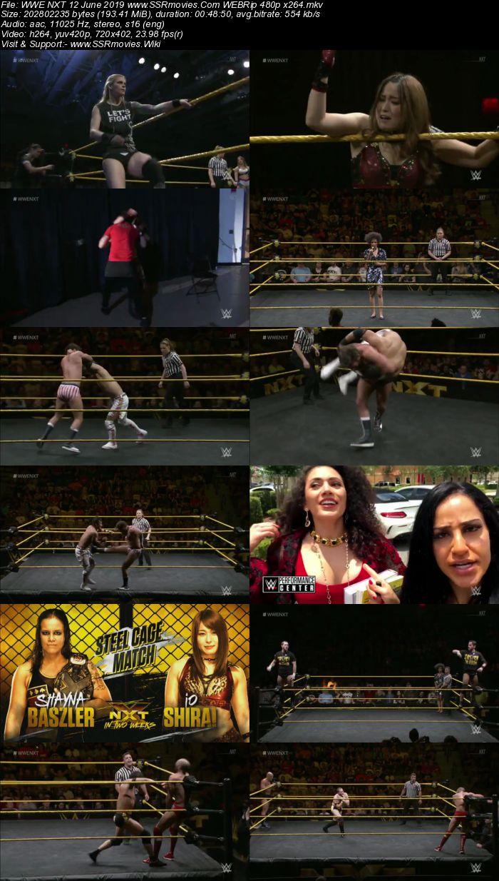 WWE NXT 12 June 2019 HDTV 480p Full Show Download