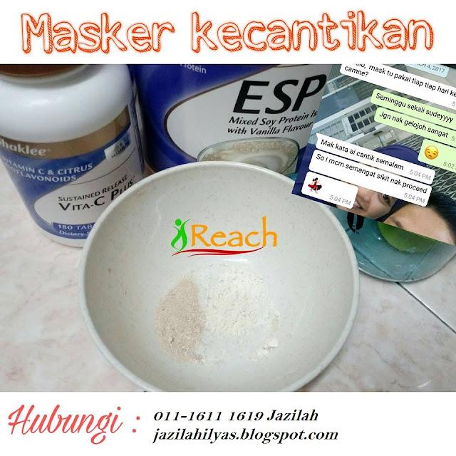 masker esp, masker vitamin c, masker, masker alfalfa, masker vivix, masker kolagen, kulit halus, kulit gebu, kulit cantik