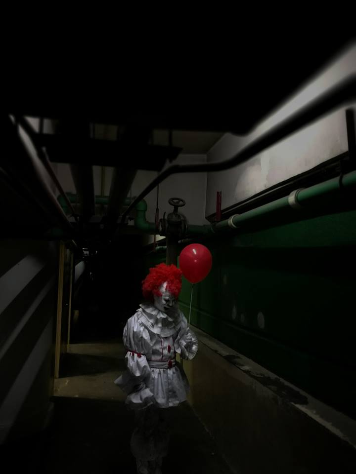 Halloween Cebu Pennywise from IT by Novereich Agustin