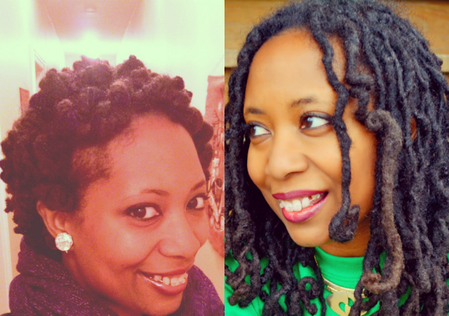 pipe cleaner curls on locs natural hair