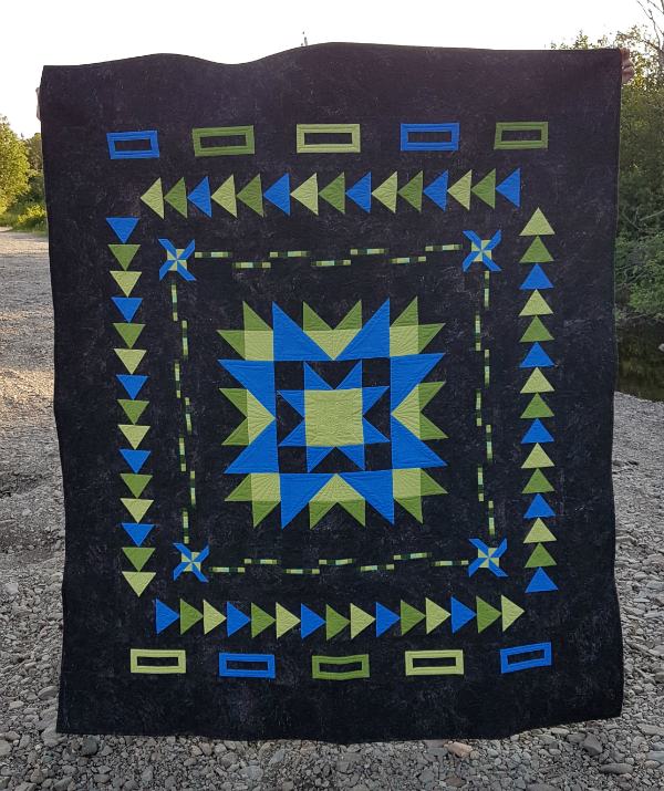 Medallion Magic quilt | DevotedQuilter.com