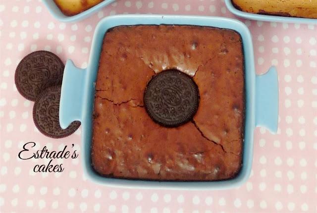 receta de brownie de Oreo 4