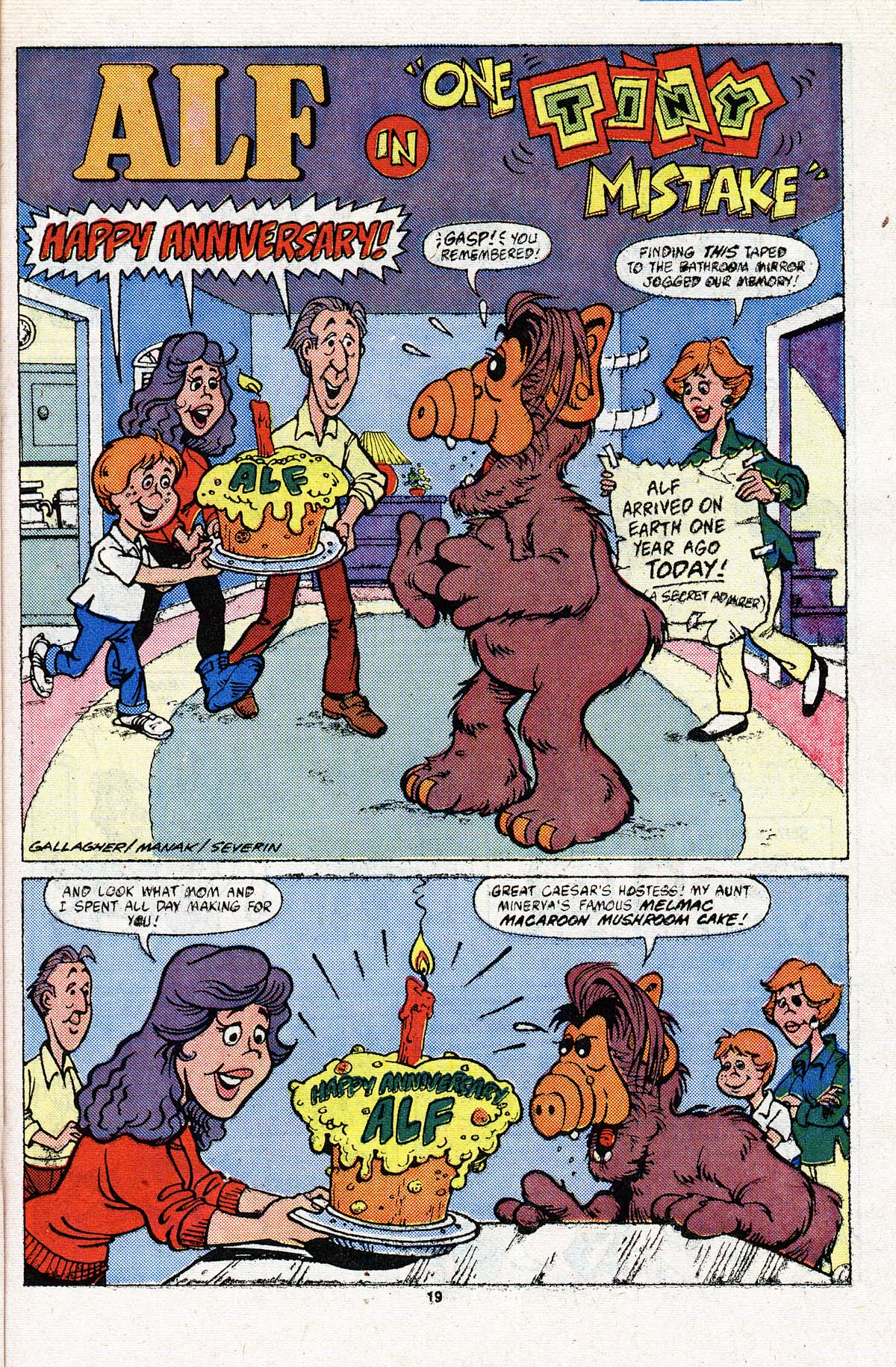 Read online ALF comic -  Issue #3 - 16