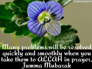 beautiful jummah messages