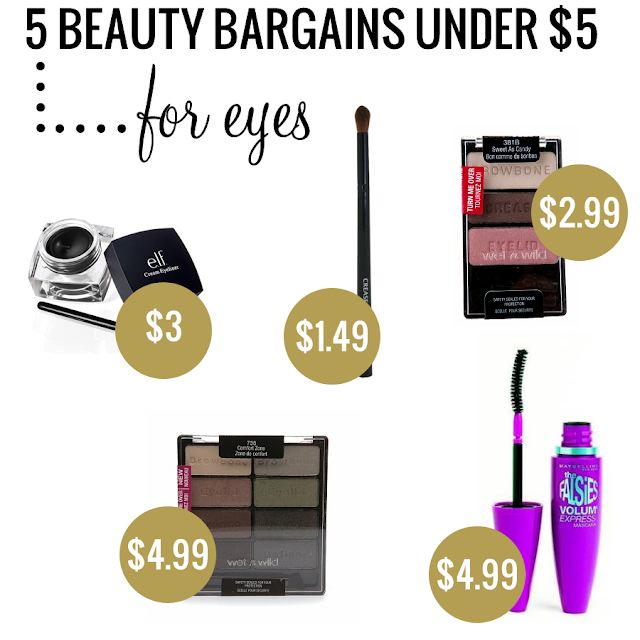 Beauty Bargains Under $5 for Eyes