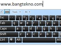 Cara Menampilkan On-Screen Keyboard pada Windows 7 dan 8