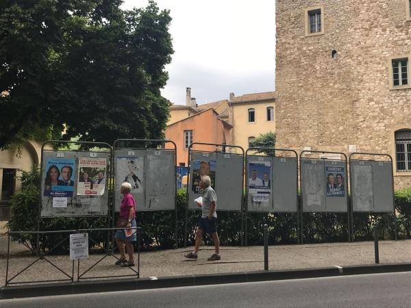 Dans la 3e circonscription du Vaucluse, douze candidats sont sur la ligne de départ. - Geoffrey Bonnefoy