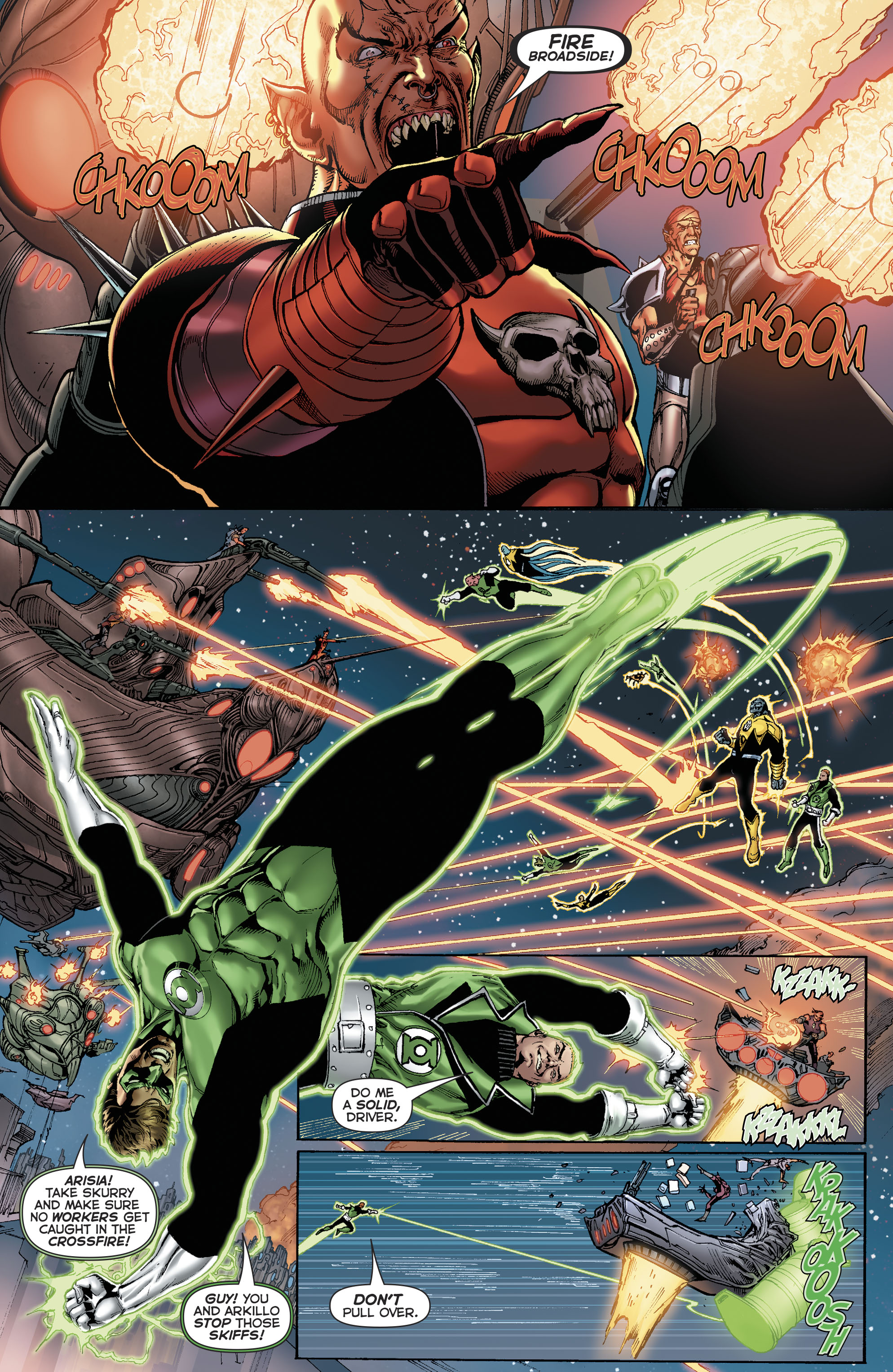 Read online Hal Jordan And The Green Lantern Corps comic -  Issue #22 - 12