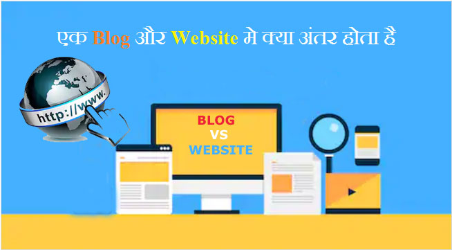 Blog aur Website mein kya antar hai
