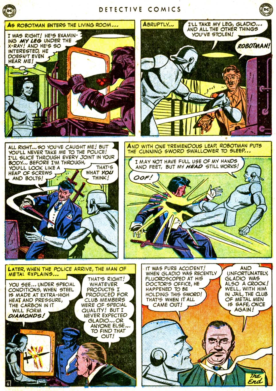 Read online Detective Comics (1937) comic -  Issue #162 - 32