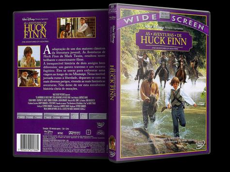 Capa DVD As Aventuras de Huck Finn