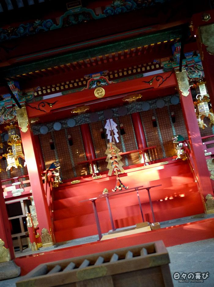 autel central, sanctuaire Iwashimizu Hachiman-gû, Yawata