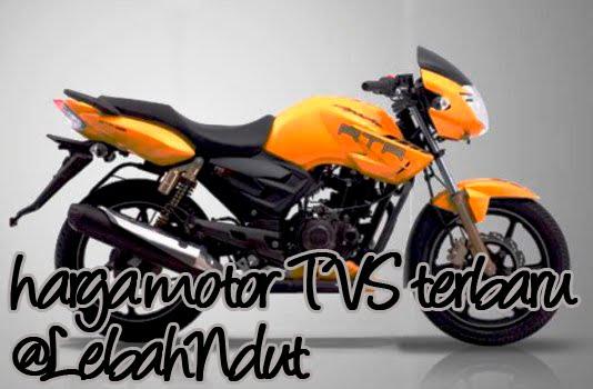 Daftar Harga Motor TVS Terbaru Desember 2012 Terlengkap Terkini
