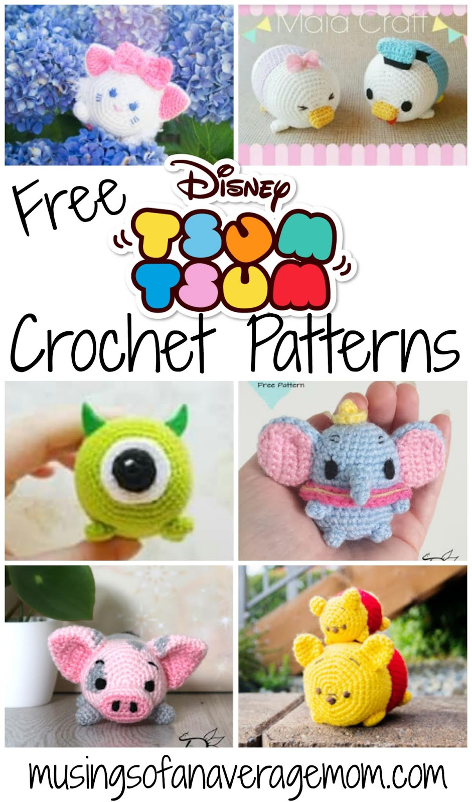 20 Stuffed Animal Crochet Ideas | Crochet toys patterns, Crochet ... | 1600x941