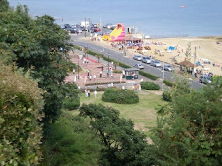 Shanklin Seafront minigolf courses in 2008