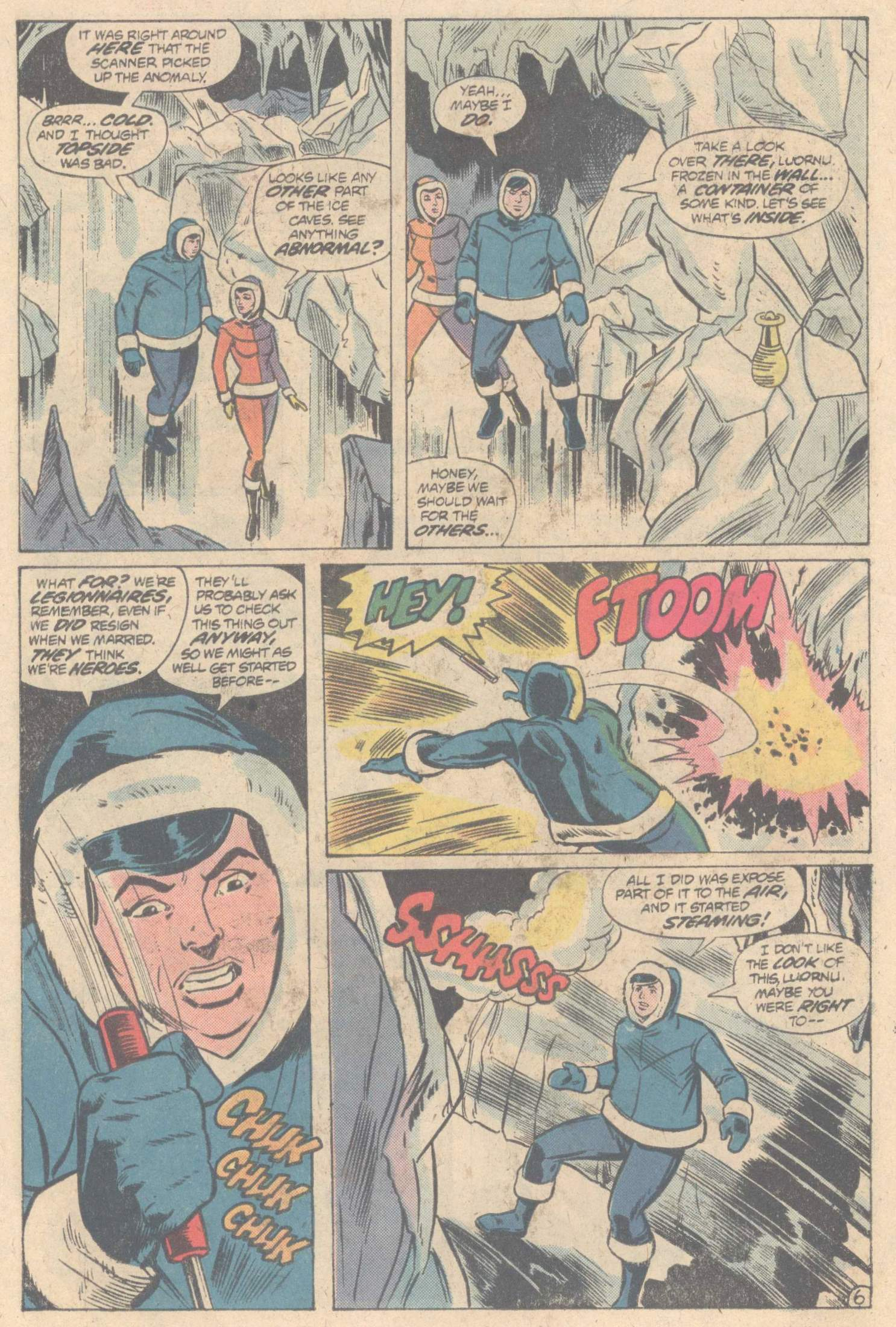 Legion of Super-Heroes (1980) 266 Page 9