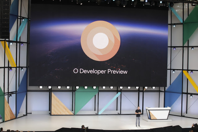 Android O beta image