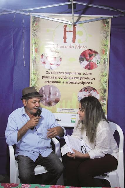 Grupo Cheiro do Mato participa da VII Feira de Economia Solidária em Cananéia
