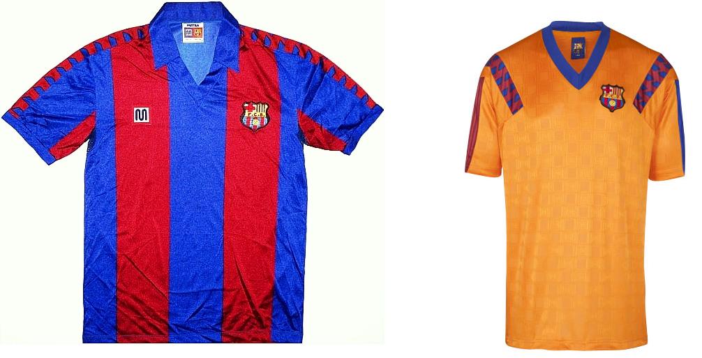 A camisa principal apresentava as tradicionais listras em azul e grená na  vertical. Detalhes em grená eram vistos nas mangas. além de uma gola azul. 29c298275c7