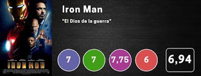Nota Iron Man