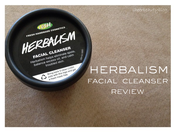 A picture of Lush Herbalism Cleanser