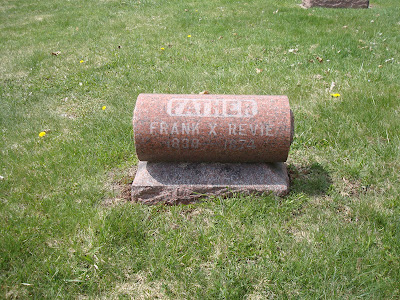 Frank Xavier Revie Saint Peter's Cemetery Wausau Wisconsin