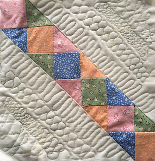 christa watson chattahoochee evening stars quilt guild class free motion machine quilting switchbacks ribbon candy